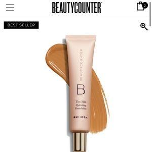 NWT tint skin hydrating foundation beautycounter